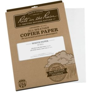 Waterproof Copier Paper