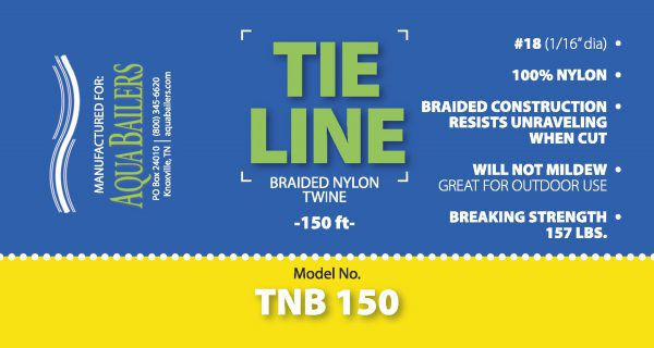TNB 150, Braided Nylon, 250'