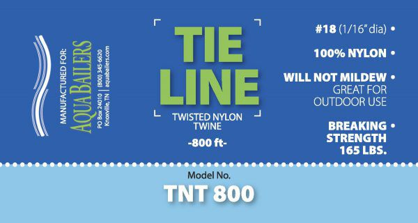 TNT-800 Twisted Nylon Twine, 800' Label