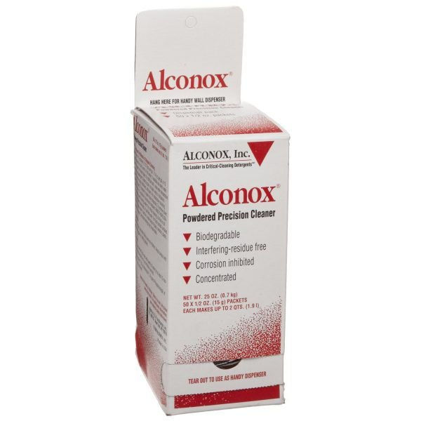 Alconox Cleaner Packets